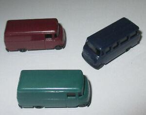 Rietze-Mercedes-Benz-L319-Bus-and-Box-3-Piece-1-160-gt-New