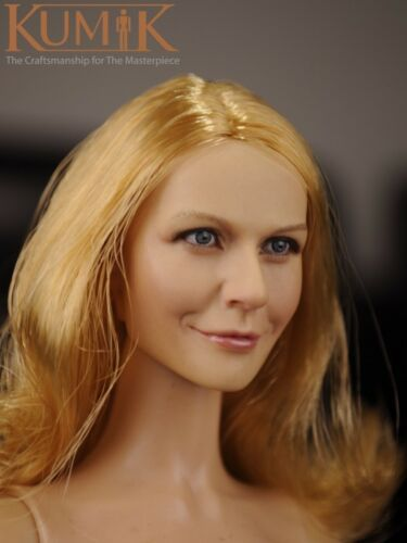 "KUMIK 1//6 Scale Female Head Sculpt KM16-10 F 12/"" Action Figure Body"