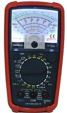 Tekpower Tp7244l 7-function 20-range Analog Multimeter With Back Light