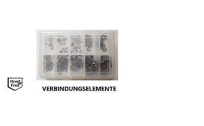 Karosseriescheiben Sortiment 80 Teile EDELSTAHL A2 6,4//8,4