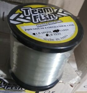 30 lb 850 yards x 4 = 1/2 LB SPOOLS SIZE EACH COPOLYMER FISHING LINE CLEARANCE