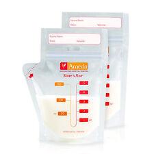 Ameda Store 'N Pour Breast Milk Storage Bags - 50 sealed