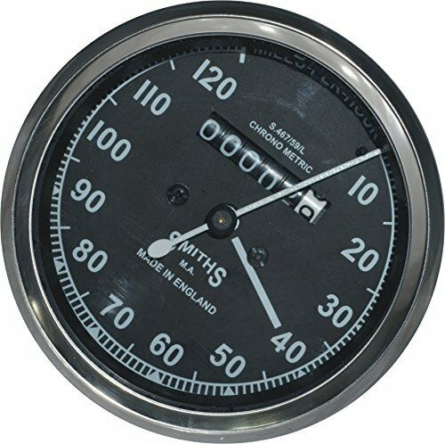 "Hub Drive Bsa Norton Triumph 54/""Cable Replica Black Smith Speedometer 0-120MPH"