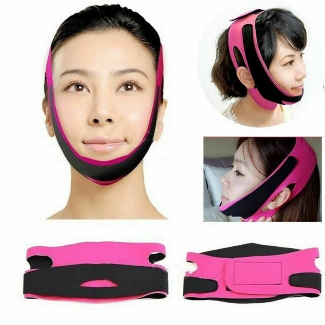Anti-Aging V-Line Face Slim Lift Up Mask Chin Cheek Slimming Strap Belt Band