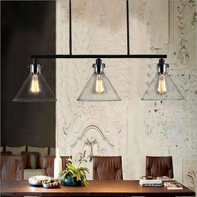 Large Chandelier Lighting Modern Ceiling Lights Glass Pendant Light Kitchen Lamp
