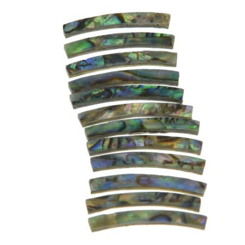 Rosette Paua Abalone gebogene Streifen Ukulele Schallloch Inlay Ukulele