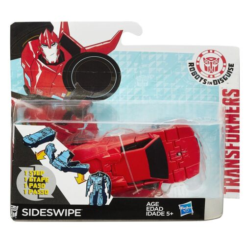 Transformers Robots in Disguise OneStep Changers Figure - Sideswipe 4.5 inch