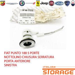 Fiat-Punto-188-5-Portes-Cliquet-Serrure-avant-Gauche-46537790
