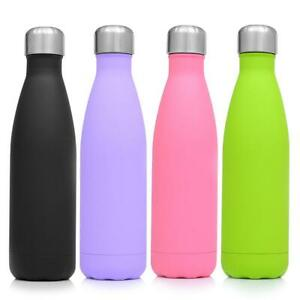 500ml-Water-Bottle-Flask-Stainless-Steel-Double-Wall-Vacuum-Insulated-Drink-AU