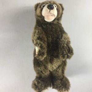 Vancouver-Aquarium-Plush-Bear-Large-16-034-Stuffed-Standing-Canada-Canadian-Animal