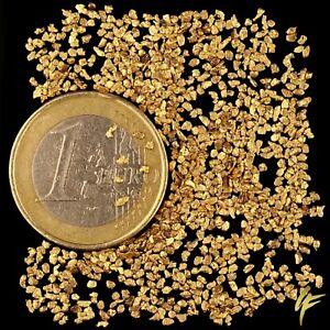10-Gramm-Goldnuggets-aus-Alaska-mit-Zertifikat-1000-Stueck-Geschenk-Wertanlage