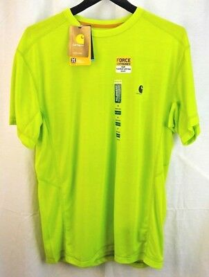120a8c1e4 Carhartt Men's 101545 Force Extremes & Trade Short Sleeve T-shirt Medium
