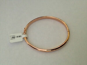 bracelet,jonc,or,rose,18,carats,750,12,
