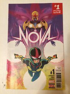 Nova-Volume-7-1-Marvel-Comics-2017-VF-NM-Ramon-Perez-1st-Printing