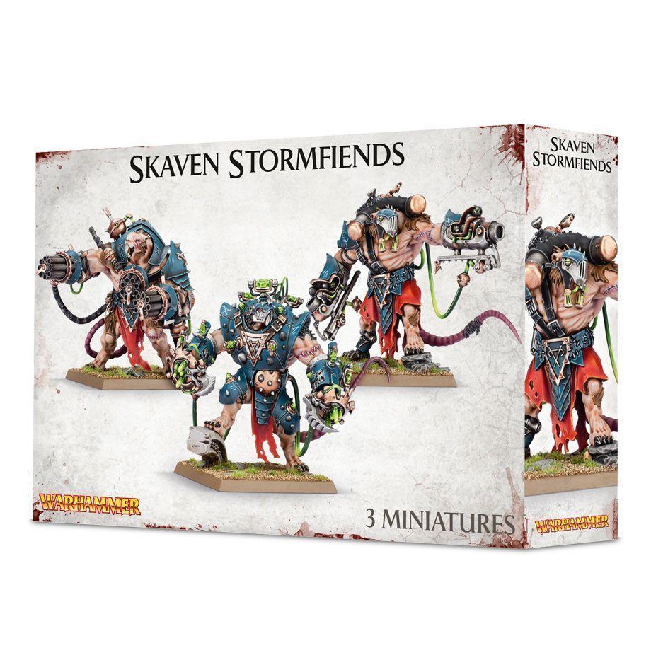 Warhammer Age of Sigmar Skaven Stormfiends new