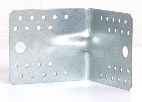 Winkel Bauwinkel Winkelverbinder 105 x 105 x 90 mm mit Verstärkung KPS2