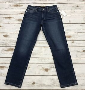 Joes Jeans Womens Kass Mid-Rise Straight Ankle Jean
