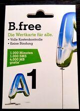 A1 Bfree Welcome Package , Prepaid Simkarte Österreich mit Guthaben
