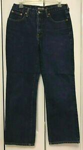 Limited Jeans Usa Dg Tela De Jeans Jeans Pantalones Boot Cut Corto Azul Oscuro Para Mujer Talla 8 Ebay