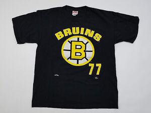 Boston Bruins T Shirt Men s XL Ray Bourque Vintage 90s NHL Hockey ... 1f9af189f