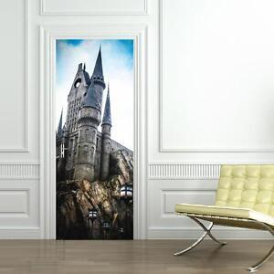 Hogwarts Harry Potter DOOR WRAP Decal Sticker Wall Mural