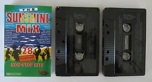THE-SUNSHINE-MIX-BEACH-BOYS-BONEY-M-BILLY-OCEAN-BLONDIE-DOUBLE-CASSETTE-TAPE-SET