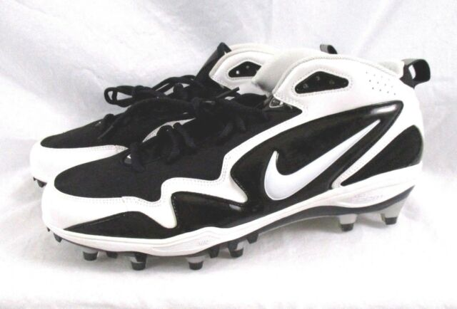 info for c7314 f7b9c Team Sports Football Nike Air Zoom Merciless D Wht Black Football Cleats NEW