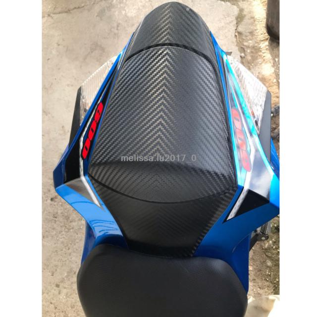 Rear Passenger Seat Cowl Cover Carbon Fiber for Suzuki GSXR 600 GSX-R 750 11-16