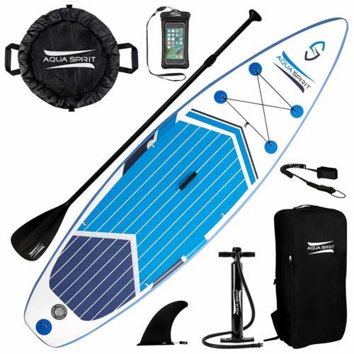 Aqua Spirit 320 cm SUP Board Stand Up Paddle Surf aufblasbar Paddel ISUP
