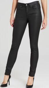 200cf62fe63 Eileen Fisher Women s Jeans Black Organic Skinny Jeans Stretch Size ...