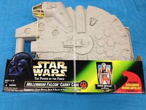 Star-Wars-Millenium-Falcon-Carry-Case-Kenner-with-Wedge-Antilles-figure