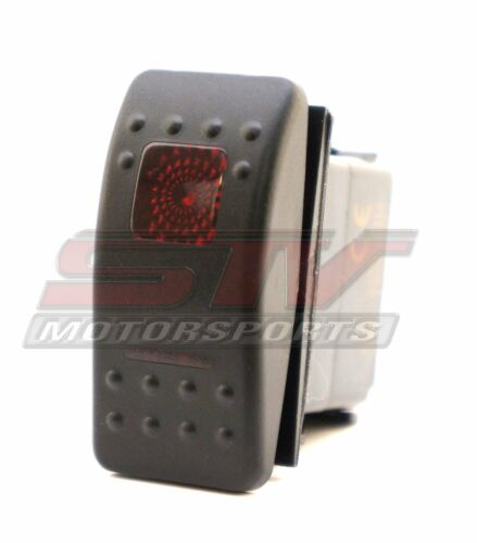20amp 12V Red Switch Polaris RZR Truck Boat off//on//on