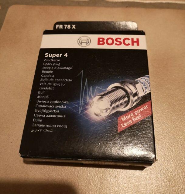 Bosch Zündkerze SUPER 4 FR 78 X, 1 Stück