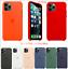 iPhone-11-11-Pro-11-Pro-Max-Original-Apple-Silikon-Huelle-Case-16-Farben Indexbild 1