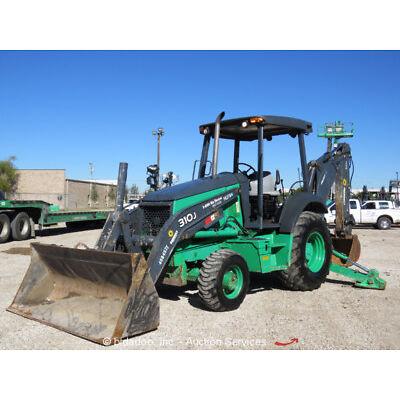 2012 John Deere 310J 4WD Backhoe Wheel Loader Diesel Tractor Texas bidadoo