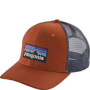 ad0edebecdca7 Image is loading Patagonia-P6-Trucker-Hat-38017-Copper-Ore-Mid-