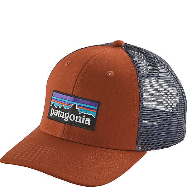 Frequently bought together. Patagonia P6 Trucker Hat  38017 Copper Ore - Mid  Crown Fit e93e5944cf5