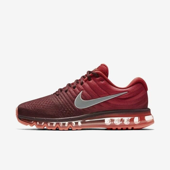Nike Air Max 2017 Maroon Running shoes 849559-601 Size 11 US