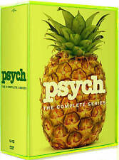 Psych: The Complete Series Seasons 1-8 (DVD, 31-Disc Box Set) with Bonus NEW