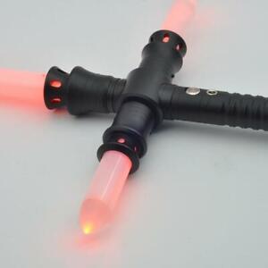 Kylo-Ren-Lightsaber-Star-Wars-METAL-Combat-Dueling-Light-saber-Cross-Durable-RED