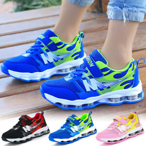 Kids-Boys-Girls-Children-Running-Sport-Student-School-Casual-Trainers-Shoes-Size