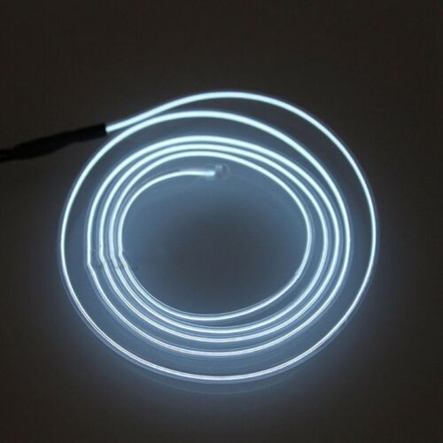 1//2//3M Car Interior Atmosphere Glow EL Wire LED Strip Light Flexible Neon Rope