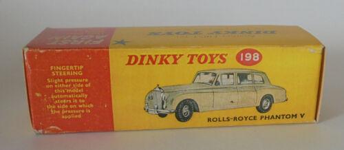 Repro box DINKY Nº 198 rolls royce phantom v