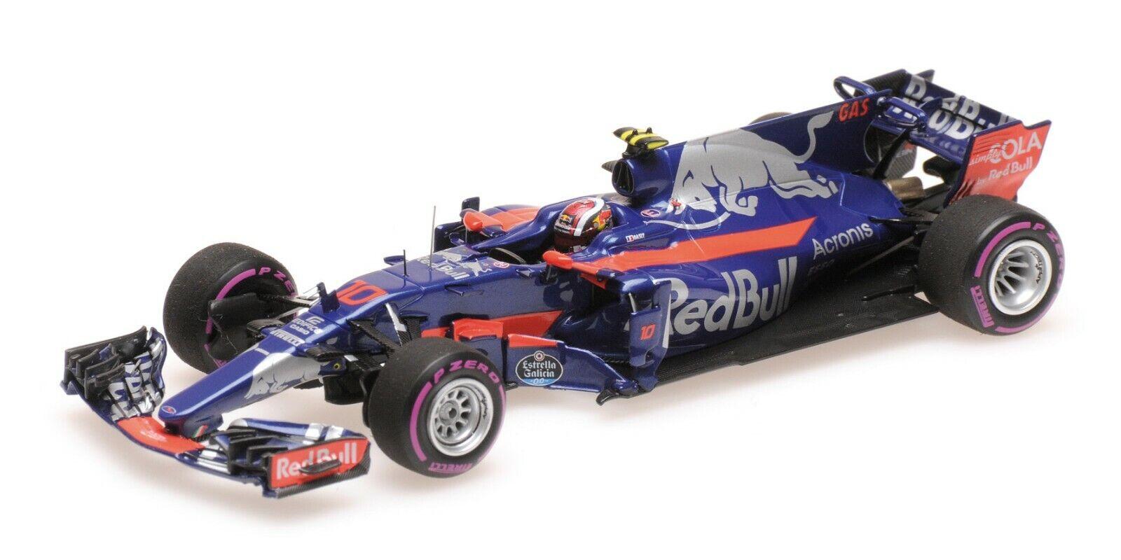 Minichamps F1 Scuderia Toro rojo STR12 Pierre Gasly 1 43 Mexican GP 2017