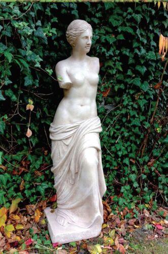 Steinfigur Anna Skulptur Figuren Gartenfigur Statue Steinnkunst BLACKFORM