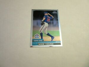 2000 Topps Chrome Traded #T46 Mike Young - Rookie Card