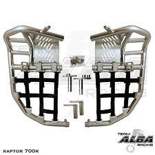 Yamaha Raptor 700  Nerf Bars  Pro Peg  Alba Pro Elite  Silver Black197 T7 SB