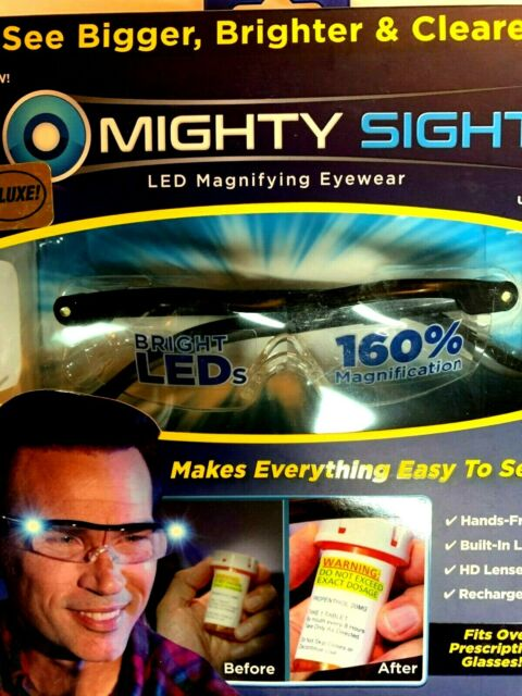 Ontel MISI-MC12/4, Mighty Sight Magnifying LED-Powered Glasses