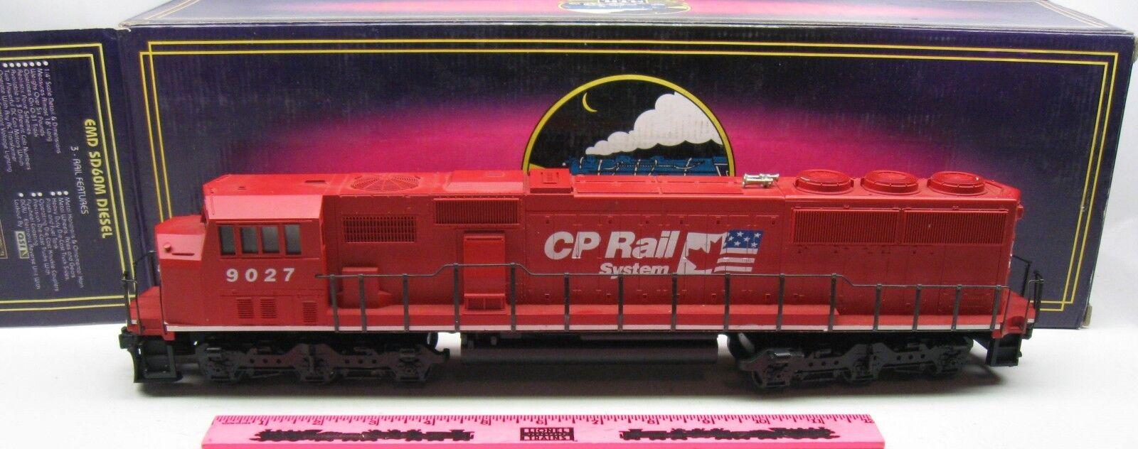 MTH  MT-2048LP CP Rail No. 9027 3-rail with predosound