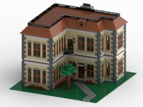 LEGO Custom House MOC INSTRUCTIONS ONLY